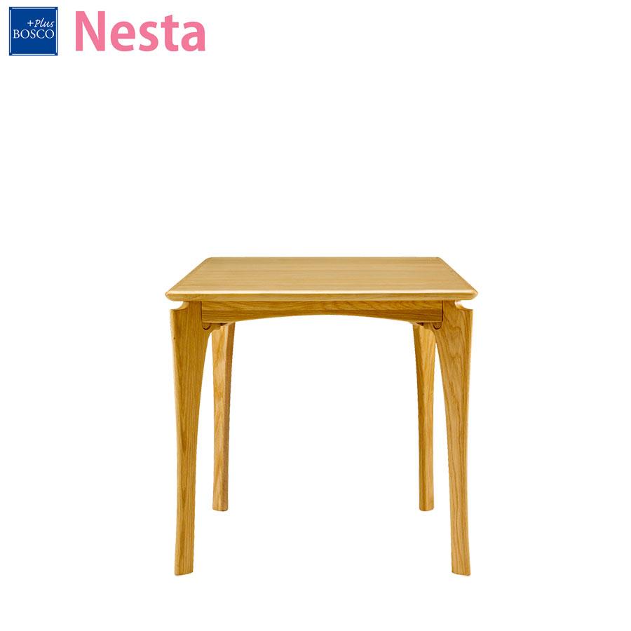 ボスコプラス BOSCO PLUS ネスタ ダイニングテーブル 75cm ナチュラル DT84002Q-PN800
