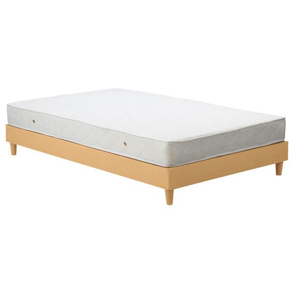 チェリー ベッド マットレス付きベッド 【幅120×奥行195×高さ42cm】 BH-533-SD