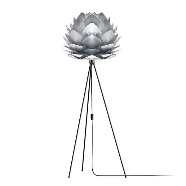ELUX エルックス 02053tfbk VITA Silvia steel (Tripod Floor/ブラック) 照明 照明器具 【電球別売】