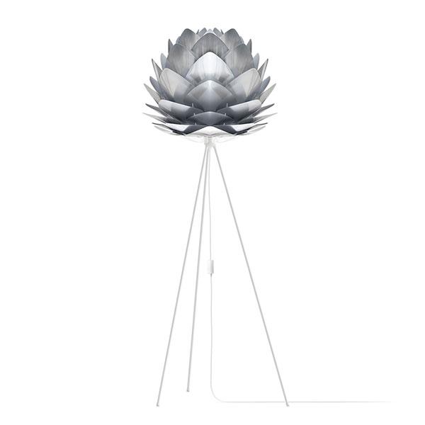 ELUX エルックス 02053tfwh VITA Silvia steel (Tripod Floor/ホワイト) 照明 照明器具 【電球別売】