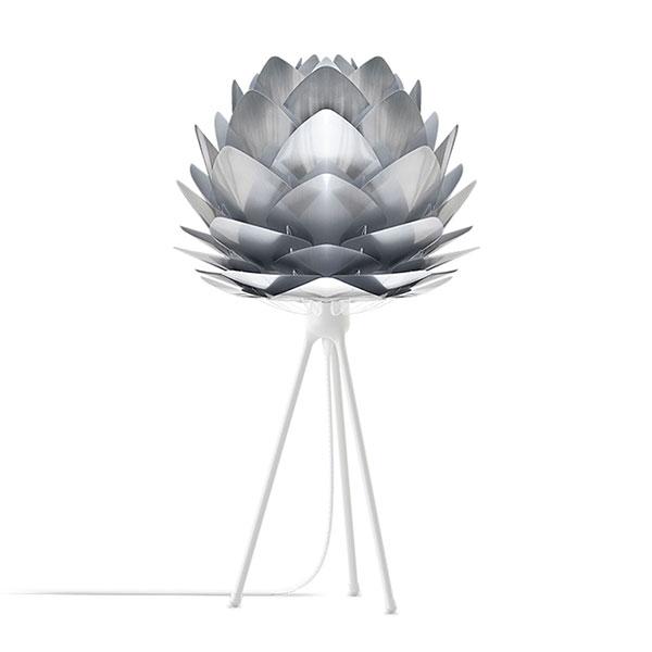 ELUX エルックス 02054ttwh VITA Silvia mini steel (Tripod Table/ホワイト) 照明 照明器具 【電球別売】 新生活