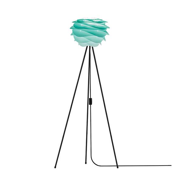 ELUX エルックス 02059tfbk VITA Carmina mini turquoise (Tripod Floor/ブラック) 照明 照明器具 【電球別売】