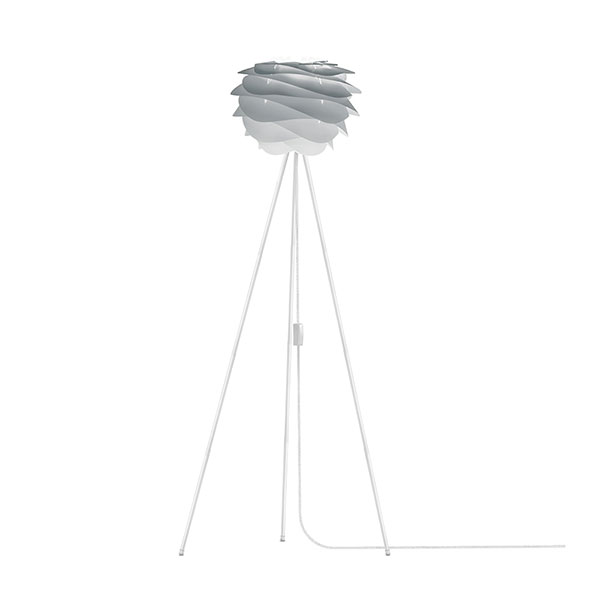 ELUX エルックス 02079tfwh VITA Carmina mini misty grey (Tripod Floor/ホワイト) 照明 照明器具 【電球別売】