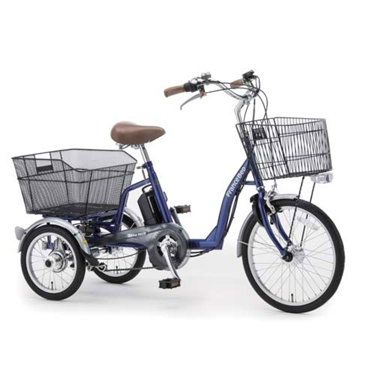 【新品】 フランスベッド フランスベッド 電動アシスト三輪自転車 ASU-3WT3 ASU-3WT3 ブルー色, 篠栗町:6108b527 --- oceanmediaservices.com