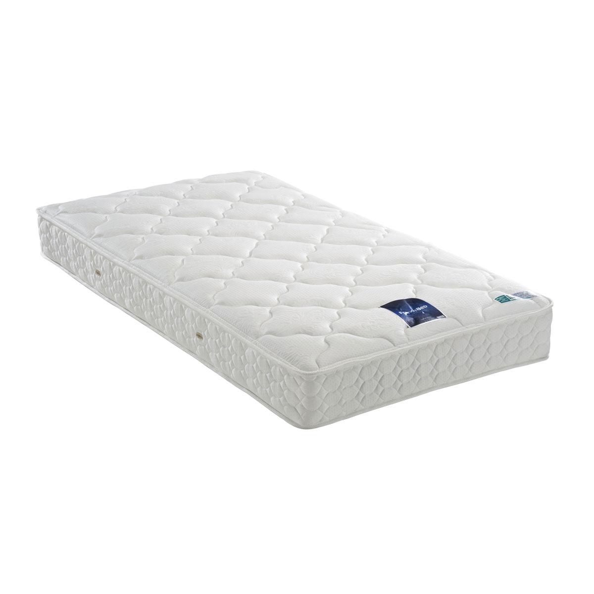 フランスベッド マットレス ホワイト色 セミダブル LT-300N(ミディアム) 39788200
