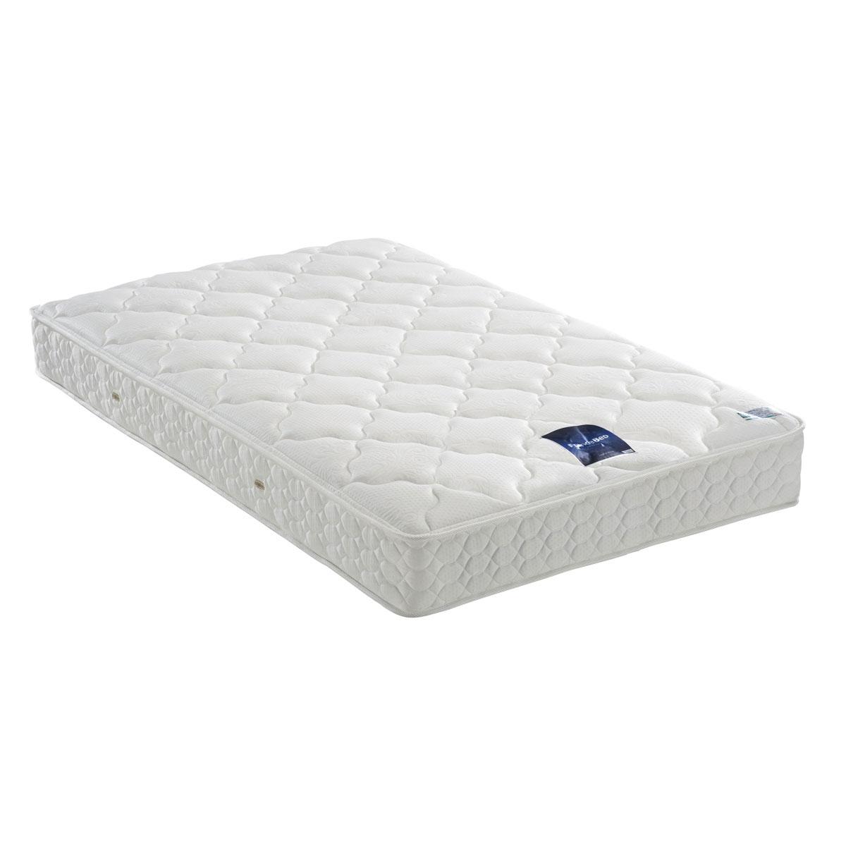 フランスベッド マットレス ホワイト色 ダブル LT-300Nロングサイズ(ソフト) 39791300