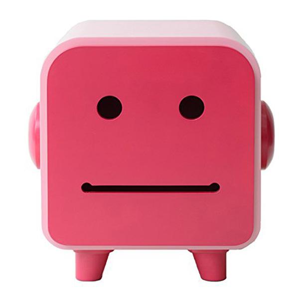 マスティージ デコ マカロンファミリー キャビネット HO BBANG ソフトレッド(red) 47×34×47cm