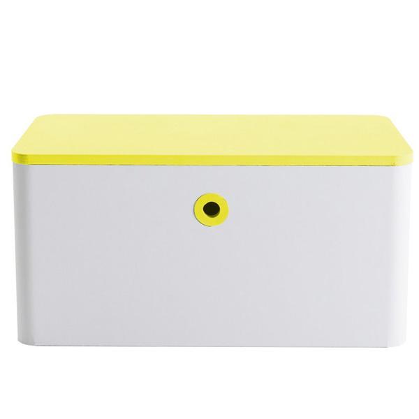 FunnyPaper(ファニーペーパー) Block bench(Yellow) 段ボールスツール CKSI_204 60.0X30.0X30.0cm