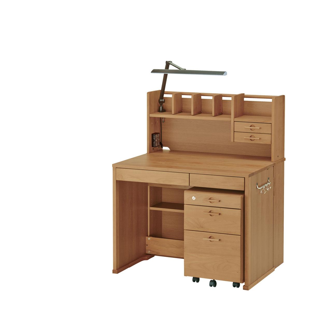 イトーキ リーモ 組みかえ型デスク 机天板高さ/76cm ティーブラウン NAH-F01-L77UAS