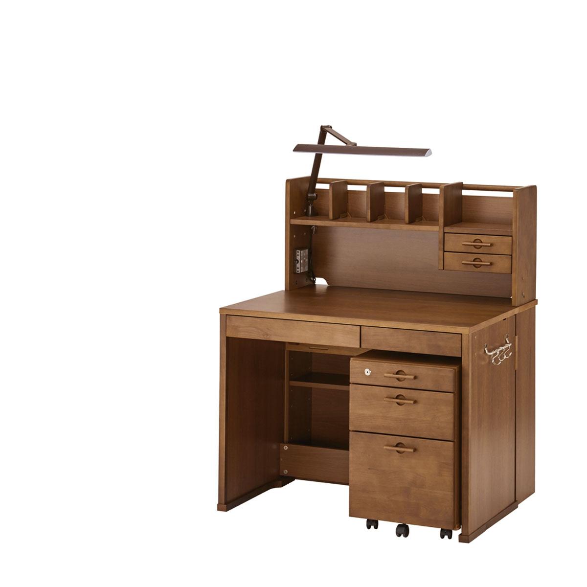イトーキ リーモ 組みかえ型デスク 机天板高さ/76cm カフェブラウン NAH-F09-L77UAS