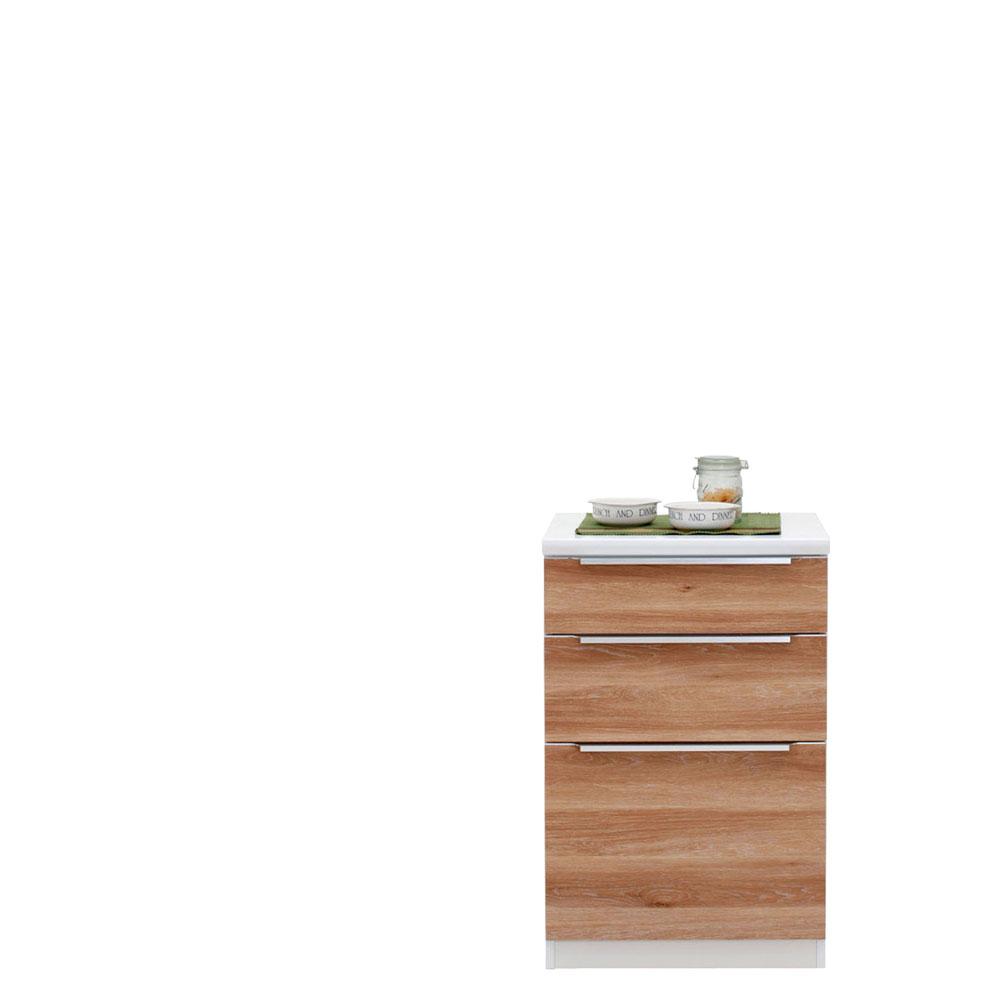 共和産業 コロン キッチンカウンター 60 ナチュラル【幅60.3×高さ93cm】 日本製 国産