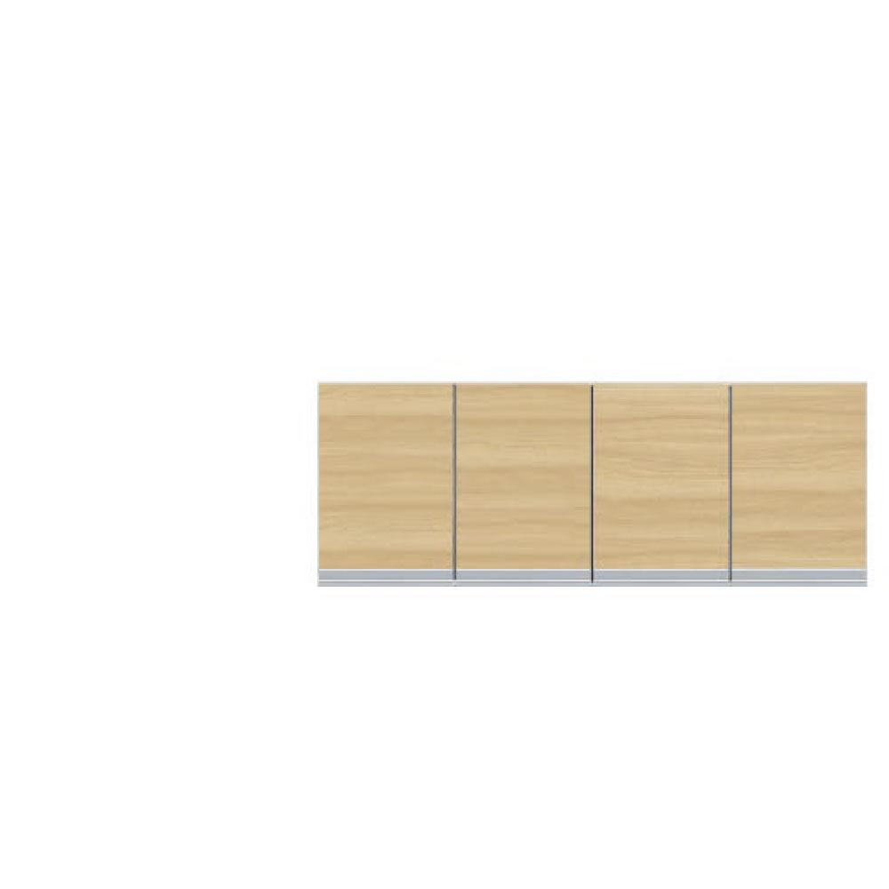 共和産業 グラッセ 高さオーダー上置き 120 ナチュラル【幅120×高さ25-45cm】
