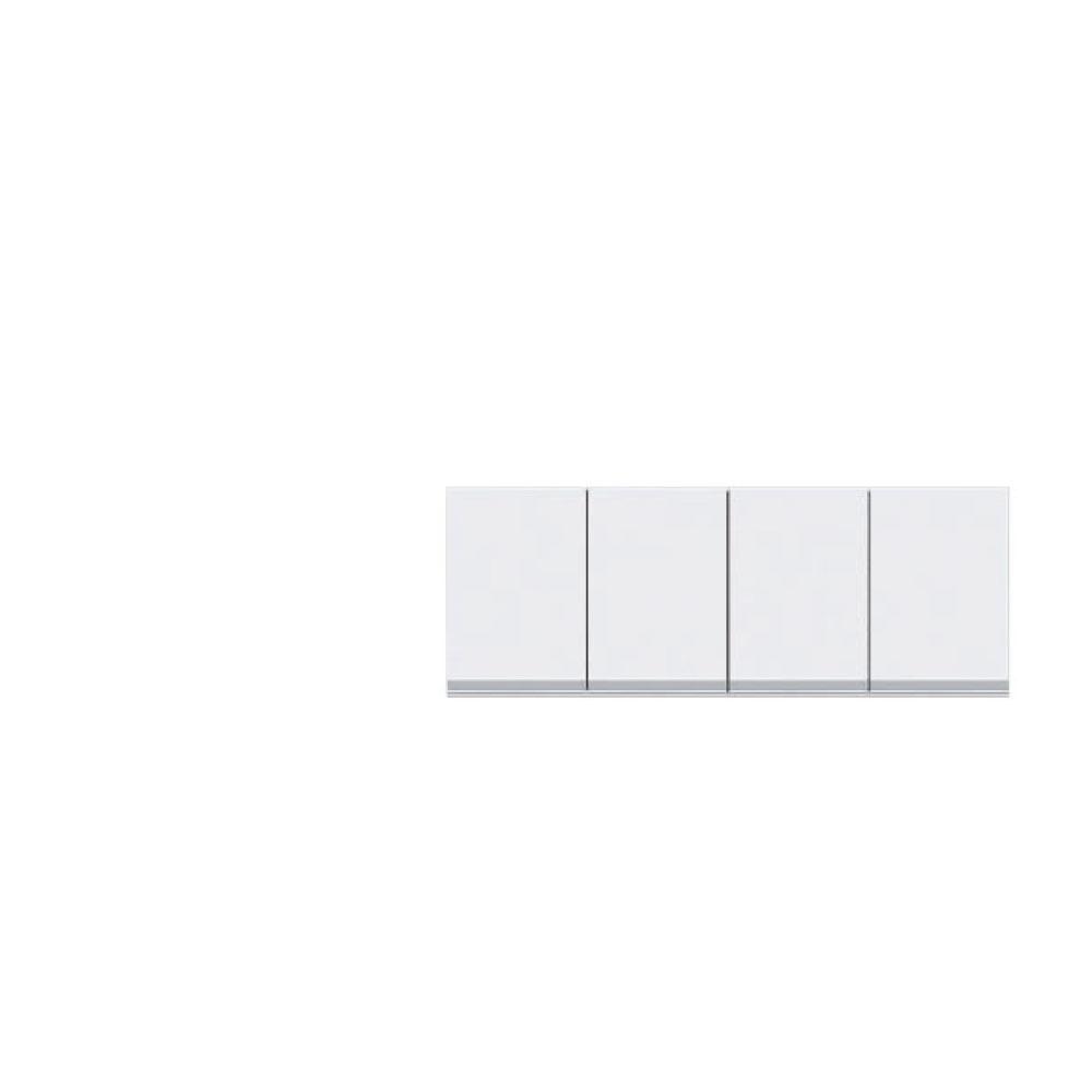 共和産業 グラッセ 高さオーダー上置き 120 ホワイト【幅120×高さ25-45cm】
