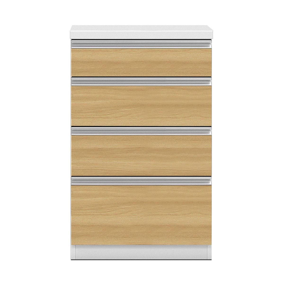 共和産業 グラッセ キッチンカウンター 下台H 60H ナチュラル【幅60×高さ98cm】 日本製 国産