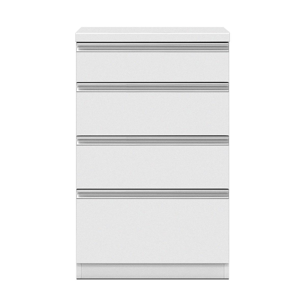 共和産業 グラッセ キッチンカウンター 下台H 60H ホワイト【幅60×高さ98cm】 日本製 国産
