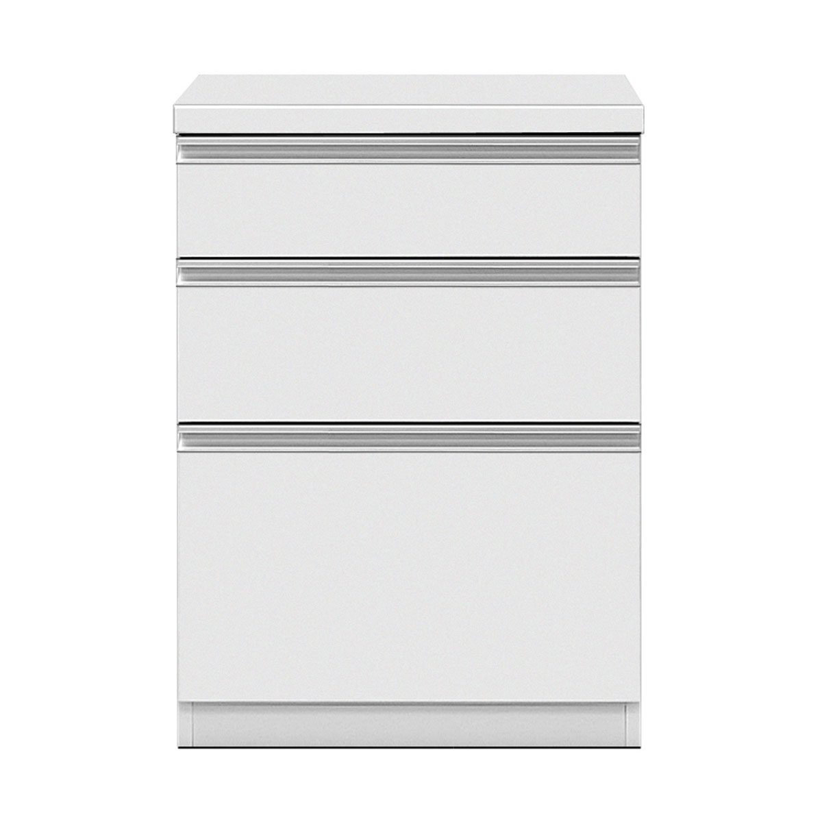 共和産業 グラッセ キッチンカウンター 下台L 60L ホワイト【幅60×高さ83cm】 日本製 国産