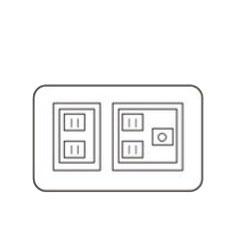 【最大44倍 12/26 1:59まで 】 食器棚 パモウナ キッチン ボード オプション バックボード穴あけ(食器棚用) XQ-2 幅240mm×高さ150mm 食器棚 パモウナ 頑丈食器棚 パモウナ食器棚 ダイニングボード レンジ台