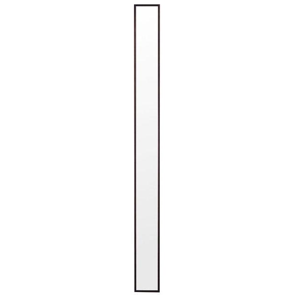 塩川光明堂 トールミラー ウォールミラー 【幅13×奥行2×高さ150cm】 ダークブラウン Tall-DX-DB