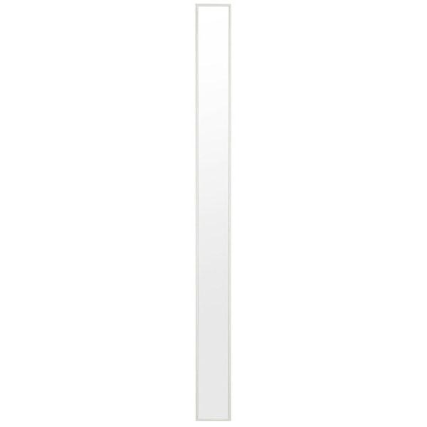 塩川光明堂 トールミラー ウォールミラー 【幅13×奥行2×高さ150cm】 ホワイト Tall-DX-WH