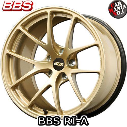 【2本セット】 BBS(ビービーエス) RI-A (RI-A022) 16×7.0J +48 5/100 カラー:GL 16インチ 5穴 P.C.D100 ホイール新品2本 鍛造ホイール