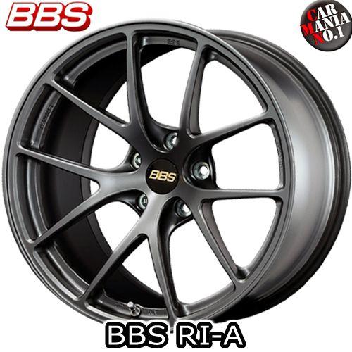 【2本セット】 BBS(ビービーエス) RI-A (RI-A002) 18×9.5J +45 5/100 カラー:MGR 18インチ 5穴 P.C.D100 ホイール新品2本 鍛造ホイール