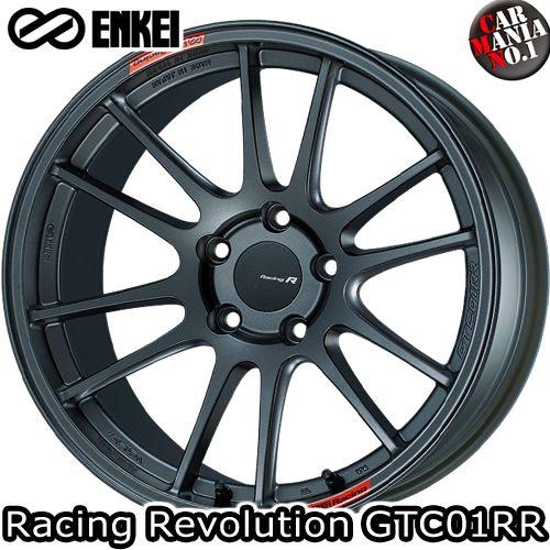 (4本セット)18×10.5J +35 5/114.3 ENKEI(エンケイ) レーシングレボリューション GTC01RR カラー:MDG 18インチ 5穴 P.C.D114.3 ホイール新品4本 Racing Rvolution