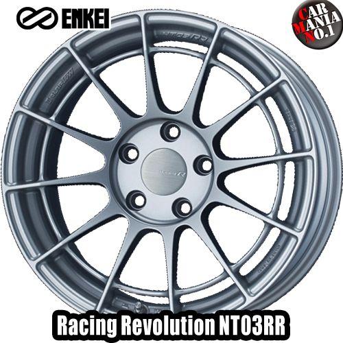 17×7.5J +35 5/114.3 ENKEI(エンケイ) レーシングレボリューション NT03RR カラー:MSS 17インチ 5穴 P.C.D114.3 ホイール新品1本 Racingr Rvolution