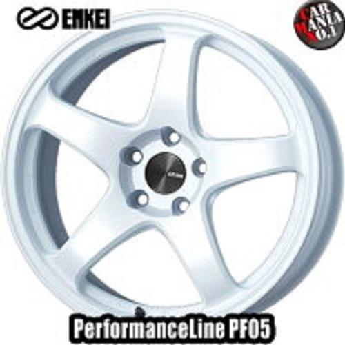 【2本セット】 ENKEI(エンケイ) パフォーマンスライン PF05 19×8.0J +45 5/100 カラー:W 19インチ 5穴 P.C.D100 ホイール新品2本 PerformanceLine PF05