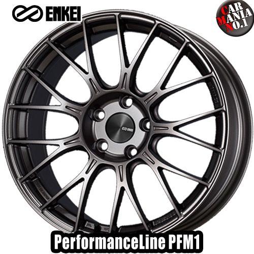【4本セット】 ENKEI(エンケイ) パフォーマンスライン PFM1 17×7.0J +48 4/100 カラー:DS 17インチ 4穴 P.C.D100 ホイール新品4本 PerformanceLine PFM1