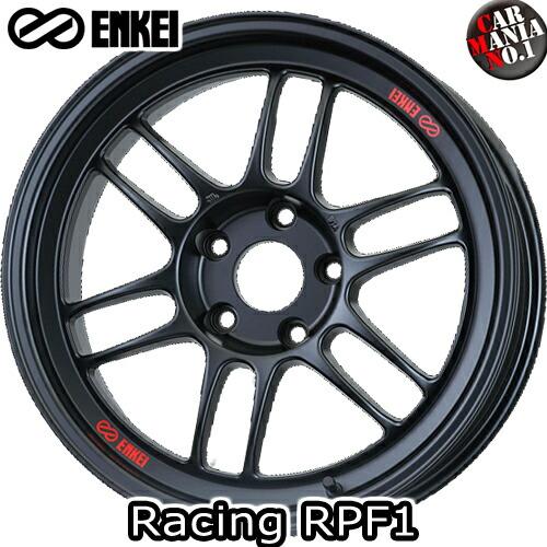 (4本セット) 18×10.5J +15 5/114.3 ENKEI(エンケイ) レーシング RPF1 カラー:Matte Black 18インチ 5穴 P.C.D114.3 ホイール新品4本 Racing