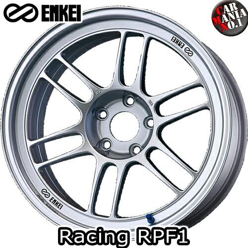 (4本セット) 18×7.5J +48 5/114.3 ENKEI(エンケイ) レーシング RPF1 カラー:Silver 18インチ 5穴 P.C.D114.3 ホイール新品4本 Racing