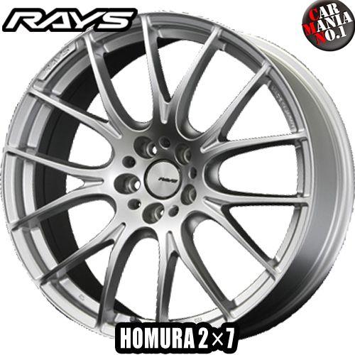 19×8.5J +45 5/114.3 RAYS(レイズ) ホムラ 2×7(ツーバイセブン) カラー:SP 19インチ 5穴 P.C.D114.3 FACE-1 ホイール新品1本 HOMURA 2X7
