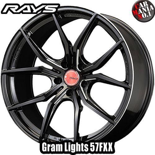 16×6.5J +50 4/100 RAYS(レイズ) グラムライツ 57FXX カラー:BM 16インチ 4穴 P.C.D100 ホイール新品1本 Gram Lights
