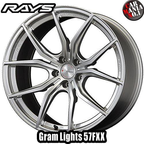 18×8.5J +45 5/114.3 RAYS(レイズ) グラムライツ 57FXX カラー:SU 18インチ 5穴 P.C.D114.3 FACE-1 ホイール新品1本 Gram Lights