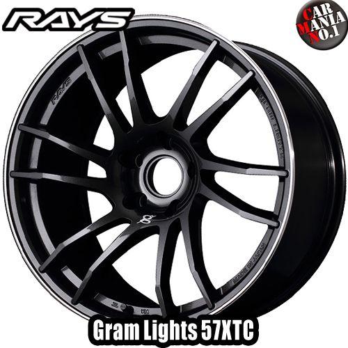(4本セット) 18×9.5J +30 5/114.3 RAYS(レイズ) グラムライツ 57XTC カラー:AAJ 18インチ 5穴 P.C.D114.3 ホイール新品4本 Gram Lights