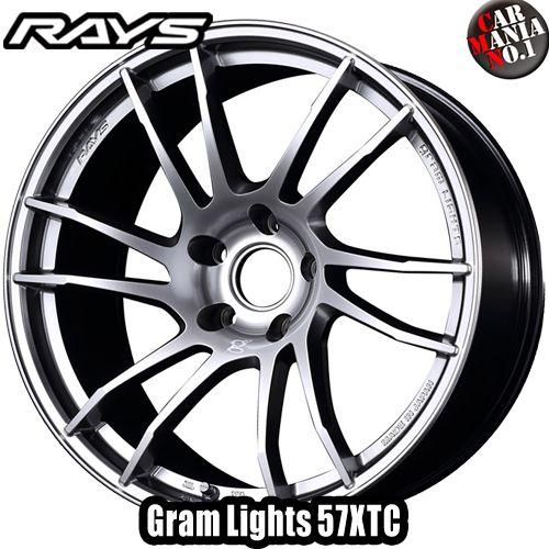 18×9.5J +12 5/114.3 RAYS(レイズ) グラムライツ 57XTC カラー:LNJ 18インチ 5穴 P.C.D114.3 ホイール新品1本 Gram Lights