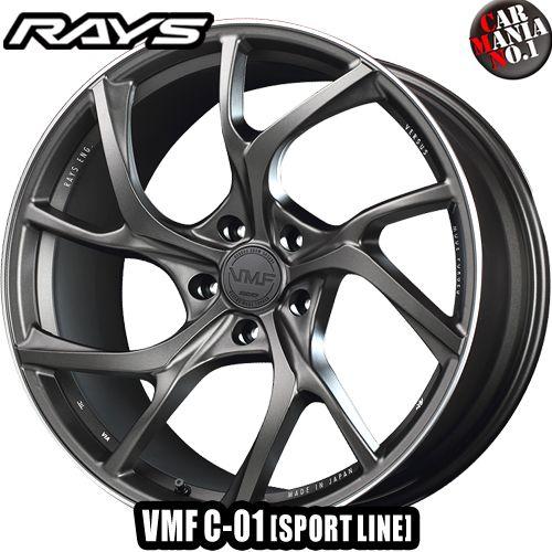 RAYS(レイズ) VMF C-01 20×11.0J +11 5/112 カラー:MK (SPORT LINE) 20インチ 5穴 P.C.D112 ボア径:φ66.6 FACE-3 ホイール新品1本 VERSUS MODE FORGED 鍛造1ピース