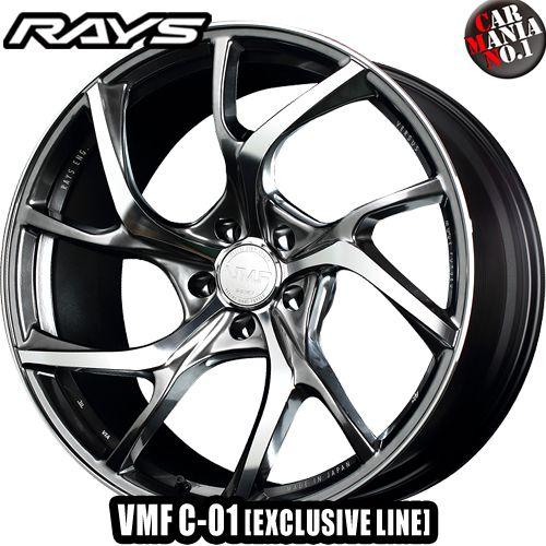 【4本セット】 RAYS(レイズ) VMF C-01 20×9.0J +25 5/112 カラー:RX (EXCLUSIVE LINE)※受注生産 20インチ 5穴 P.C.D112 ボア径:φ66.6 FACE-3 ホイール新品4本 VERSUS MODE FORGED 鍛造1ピース