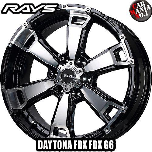 17×8.0J +20 6/139.7 RAYS(レイズ) チームデイトナ FDX G6 カラー:BAZ 17インチ 6穴 P.C.D139.7 ホイール新品1本 TEAM DAYTONA