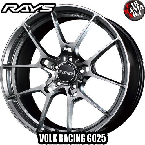 RAYS(レイズ) ボルクレーシング G025 20×12.0J +25 5/114.3 カラー:FD 20インチ 5穴 P.C.D114.3 FACE-5 ホイール新品1本 VOLK RACING 鍛造ホイール