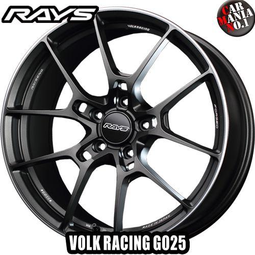 RAYS(レイズ) ボルクレーシング G025 20×8.5J +43 5/112 カラー:MK 20インチ 5穴 P.C.D112 ボア径:φ66.6 FACE-1 ホイール新品1本 VOLK RACING 鍛造ホイール