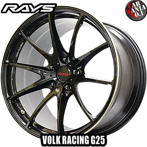 18×8.5J +42 5/112 RAYS(レイズ) ボルクレーシング G25. カラー:CB 18インチ 5穴 P.C.D112 ボア径:φ73.1/FACE-1 ホイール新品1本 VOLK RACING G25 鍛造1ピース