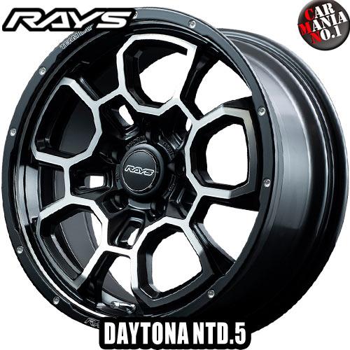 RAYS(レイズ) チームデイトナ NTD.5 18×7.5J +45 5/114.3 カラー:N1 18インチ 5穴 P.C.D114.3 ホイール新品1本 TEAM DAYTONA