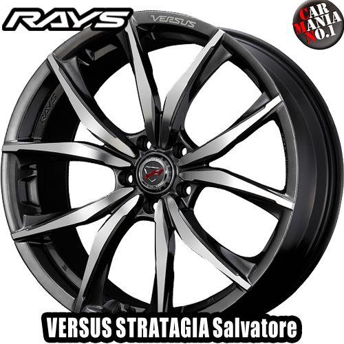 (4本セット) 19×8.5J +38 5/114.3 RAYS(レイズ) ベルサス ストラテジーア サルヴァトーレ カラー:FAJ 19インチ 5穴 P.C.D114.3 ホイール新品4本 VERSUS STRATAGIA Salvatore
