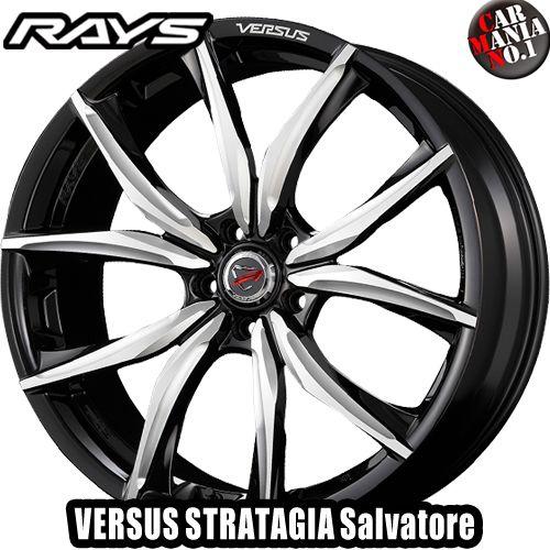 20×8.5J +38 5/112 RAYS(レイズ) ベルサス ストラテジーア サルヴァトーレ カラー:PAC 20インチ 5穴 P.C.D112 ボア径:φ66.6 ホイール新品1本 VERSUS STRATAGIA Salvatore