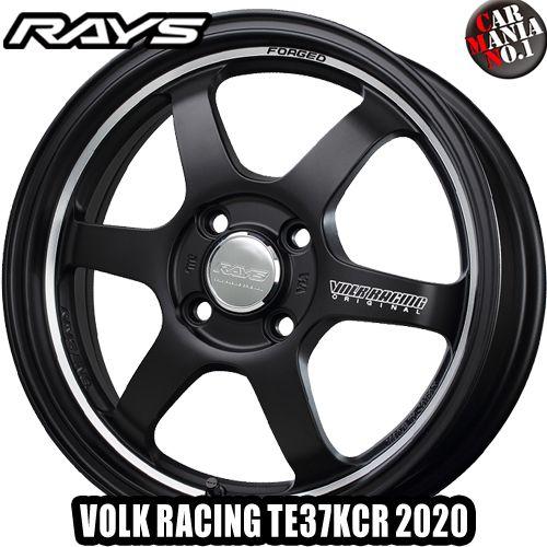 【2本セット】 RAYS(レイズ) ボルクレーシング TE37KCR 2020 16×6.0J +42 4/100 カラー:BC 16インチ 4穴 P.C.D100 FACE-2 ホイール新品2本 VOLK RACING 鍛造ホイール