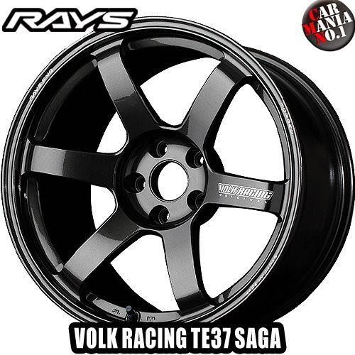 RAYS(レイズ) ボルクレーシング TE37サーガ 18×9.0J +45 5/114.3 カラー:MM 18インチ 5穴 P.C.D114.3 FACE-2 ホイール新品1本 VOLK RACING 鍛造ホイール