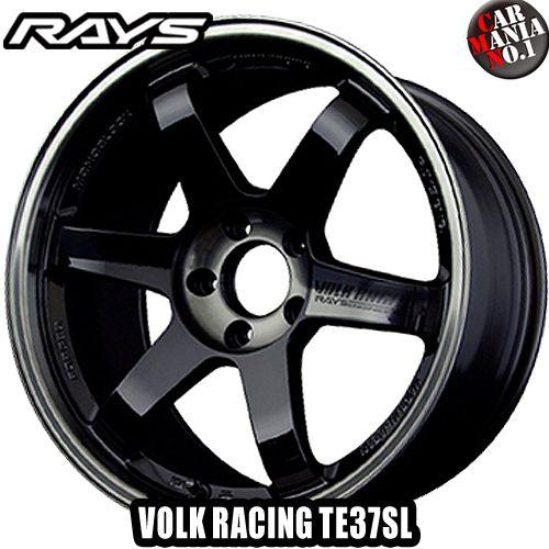 【2本セット】 RAYS(レイズ) ボルクレーシング TE37SL 17×8.5JJ +45 5/100 カラー:PW 17インチ 5穴 P.C.D100 ホイール新品2本 VOLK RACING TE37 SL 鍛造ホイール
