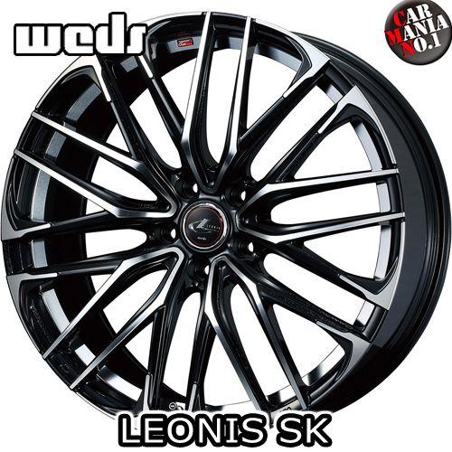 (4本セット) 18×8.0J +42 5/114.3 Weds(ウェッズ) レオニスSK カラー:PBMC 18インチ 5穴 P.C.D114.3 ホイール新品4本 LEONIS SK