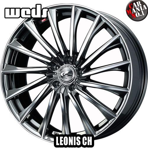 (4本セット) 19×8.0J +43 5/114.3 Weds(ウェッズ) レオニスCH カラー:BMCMC 19インチ 5穴 PCD114.3 ホイール新品4本 LEONIS CH